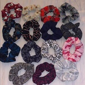 15 PC Custom Scrunchie Set